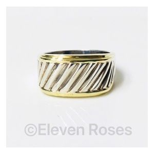 David Yurman Classic Cable Cigar Band Ring